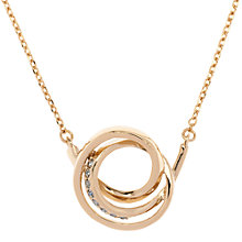 Buy Karen Millen Swarovski Crystal Ribbon Pendant Online at johnlewis.com