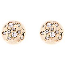 Buy Karen Millen Sprinkle Crystal Stud Earrings Online at johnlewis.com