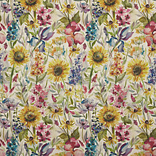Buy Voyage Sunflower Furnishing Fabric Online at johnlewis.com