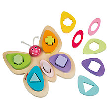 Buy Janod Butterfly Sorter Learning Play Set Online at johnlewis.com