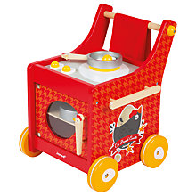 Buy Janod French Cocotte Kitchen Trolley Play Set Online at johnlewis.com