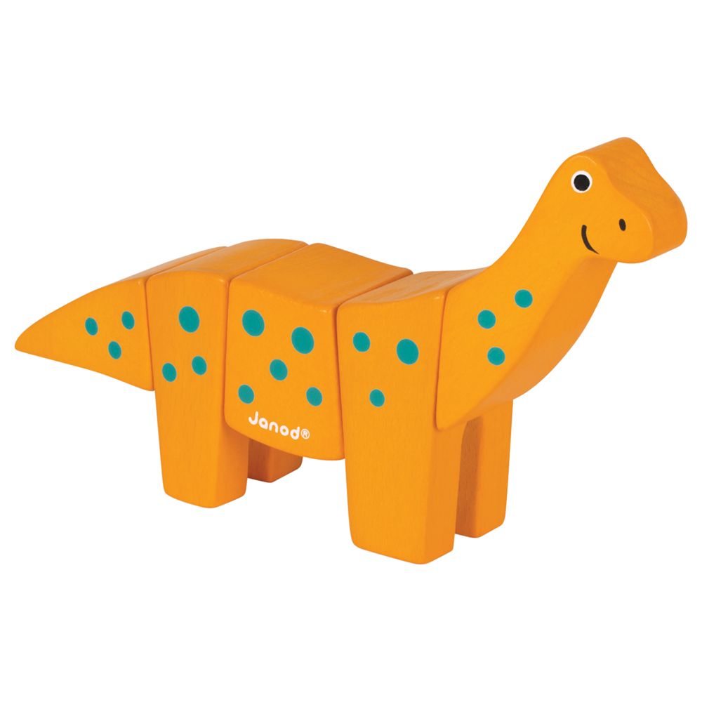 Janod Janod Animal Kit Toy, Brachiosaurus