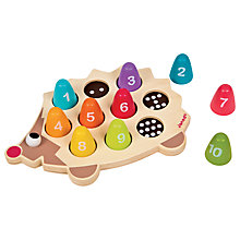 Buy Janod Hedgehog Counter Play Set Online at johnlewis.com