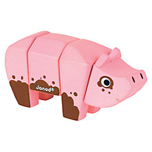 Buy Janod Animal Kit Toy, Pig Online at johnlewis.com
