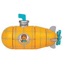 Buy Janod Magnet Submarine Play Set Online at johnlewis.com