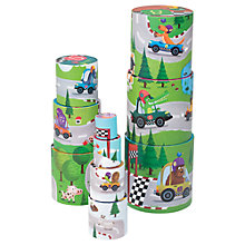 Buy Janod Round Racing Stack Play Set Online at johnlewis.com