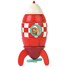 Buy Janod Magnet Rocket Toy Online at johnlewis.com