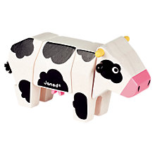Buy Janod Animal Kit Toy, Cow Online at johnlewis.com