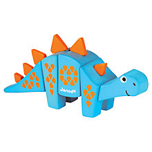 Buy Janod Animal Kit, Stegosaurus Online at johnlewis.com