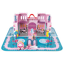 Buy Janod Princess Palace Case Play Set Online at johnlewis.com