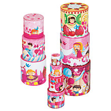 Buy Janod Delicacies Round Cake Stack Play Set Online at johnlewis.com