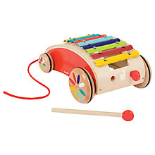Buy Janod Xylo Roller Tatoo Pull-Along Toy, Red Online at johnlewis.com