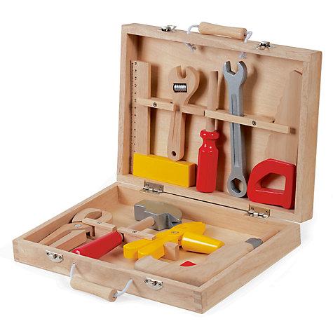 buy janod bricolo tool box set john lewis. Black Bedroom Furniture Sets. Home Design Ideas