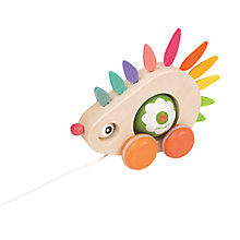 Buy Janod Zigolo Hedgehog Pull-Along Toy Online at johnlewis.com