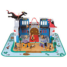 Buy Janod Castle Carry Case Play Set Online at johnlewis.com