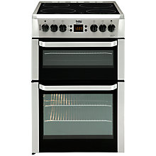Buy Beko BDVC667S Electric Double Cooker, Silver Online at johnlewis.com
