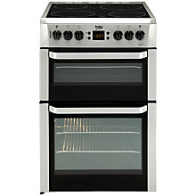 Buy Beko BDVC667X Electric Double Cooker, Stainless Steel Online at johnlewis.com