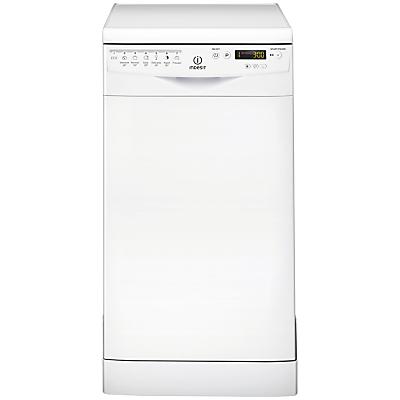 Indesit DSR57B Freestanding Slimline Dishwasher White