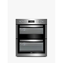 Buy Beko BTF26300X Electric Double Oven, Stainless Steel Online at johnlewis.com