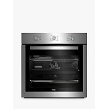 Buy Beko BIF16100X Built In Electric Single Oven, Stainless Steel Online at johnlewis.com