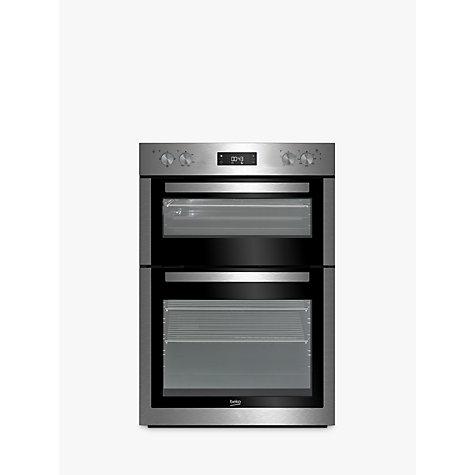 buy beko bdf26300x built in electric double oven. Black Bedroom Furniture Sets. Home Design Ideas