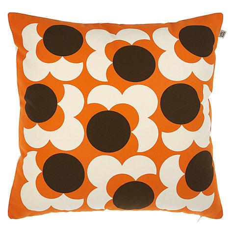 Bigspot Com Reviews >> Buy Orla Kiely Bigspot Flower Reversible Cushion   John Lewis