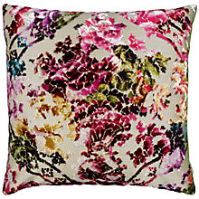Buy Designers Guild Martineau Cushion, Berry Online at johnlewis.com