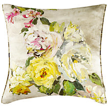 Buy Designers Guild Fiorella Cushion, Ecru Online at johnlewis.com