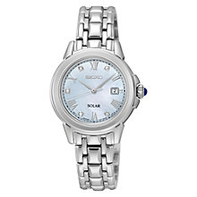 Buy Seiko SUT243P9 Women's Bracelet Strap Watch, Silver Online at johnlewis.com