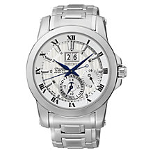 Buy Seiko SNP091P1 Men's Bracelet Strap Watch, Silver Online at johnlewis.com