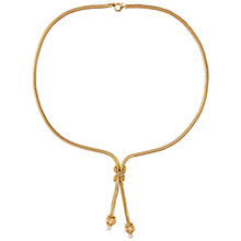 Buy Susan Caplan Vintage 1960s Grosse Gold Plated Faux Pearl Necklace, Gold Online at johnlewis.com