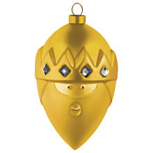Buy Alessi Gaspare Christmas Bauble Decoration Online at johnlewis.com