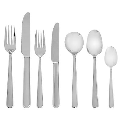John Lewis Eris Cutlery Set, 42 Piece