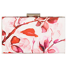 Buy Kaliko Oriental Bloom Clutch Bag, Red Multi Online at johnlewis.com