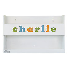 Buy Tidy Books Personalised Baby Buddy, White Online at johnlewis.com