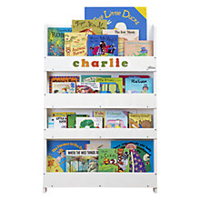 Buy Tidy Books Personalised ABC Bookcase, White Online at johnlewis.com