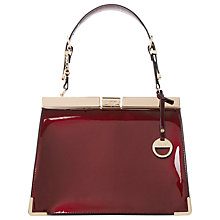 Buy Dune Danni Grab Bag, Berry Online at johnlewis.com