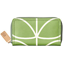 Buy Orla Kiely Matte Laminated Giant Wallet, Apple Online at johnlewis.com