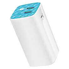 Buy TP-LINK 10400MAH Dual USB Portable Power Bank, TL-PB10400 Online at johnlewis.com