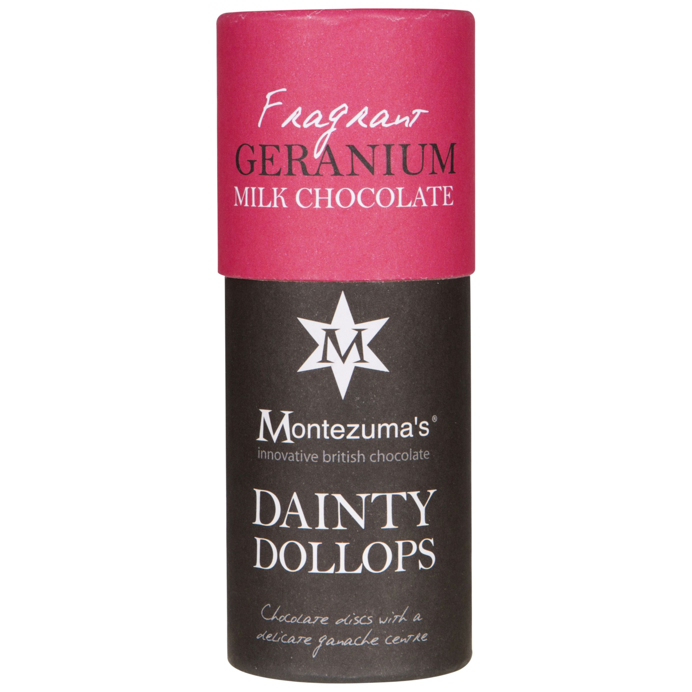 Montezuma's Montezuma's Dainty Dollops Geranium, 150g