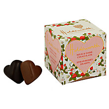 Buy Holdsworth Mini Milk and Dark Strawberry Hearts Online at johnlewis.com