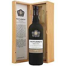 Buy Taylor's Single Harvest 1965 Port Online at johnlewis.com