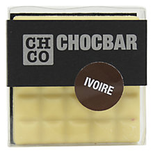 Buy The Chocolate Company, Chocbar White Online at johnlewis.com