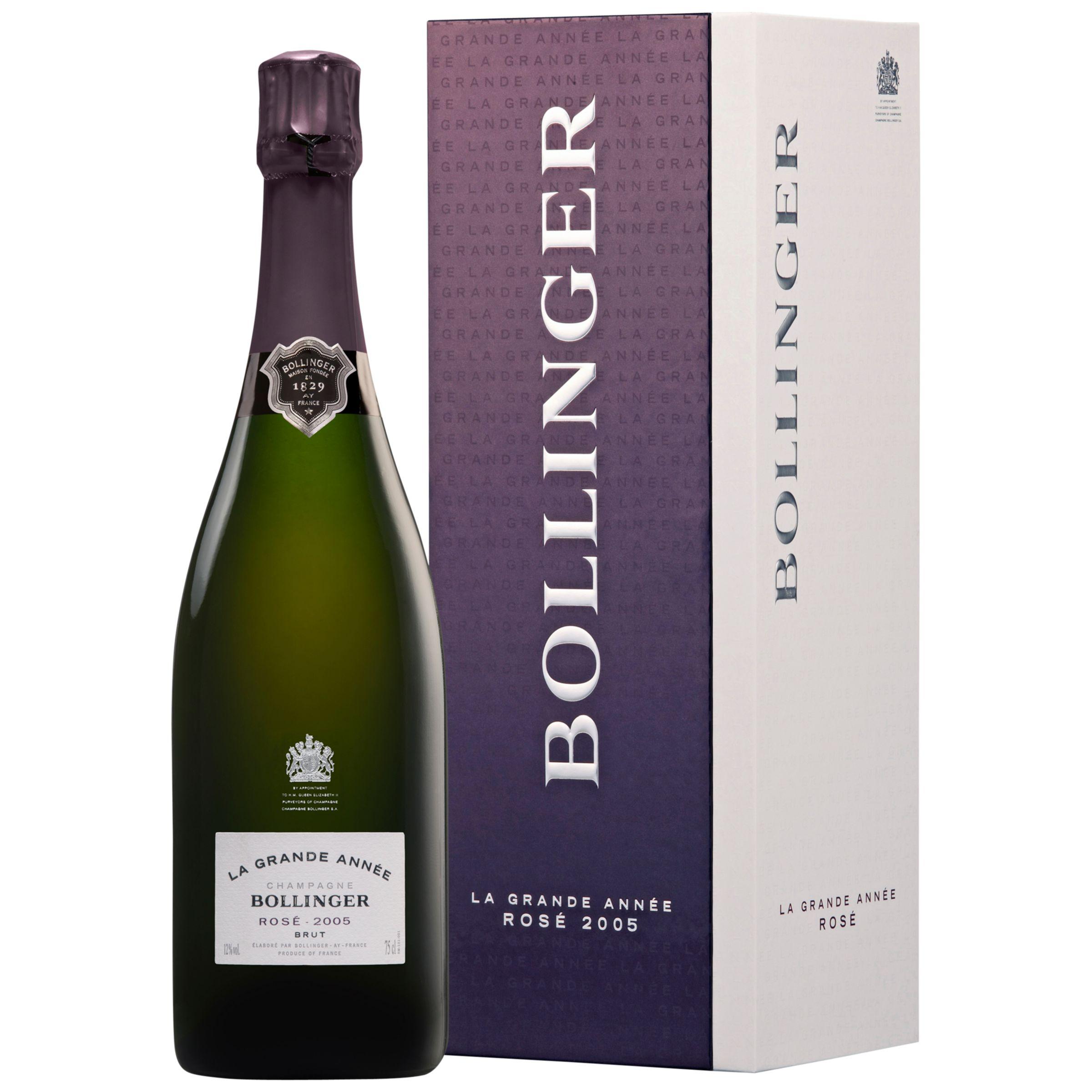 Bollinger Bollinger Grande Annee Rose, 2005, 75cl