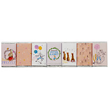 Buy Charbonnel Et Walker, Peter Rabbit Seven Piece Chocolate Set, 70g Online at johnlewis.com