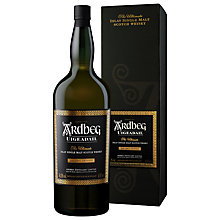 Buy Ardbeg Uigeadail, Single Malt Scotch Whiskey, 70cl Online at johnlewis.com