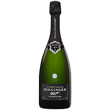 Buy Champagne Bollinger SPECTRE Limited Edition Set, 75cl, 2009 Online at johnlewis.com