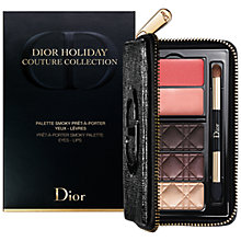 Buy Dior Holiday Couture Collection Smoky Eye & Lip Palette Makeup Gift Set Online at johnlewis.com