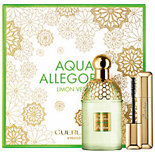 Buy Guerlain Aqua Allegoria Christmas Coffret Limon Verde Eau de Toilette 125ml + Cils D'Enfer Maxi Lash Mascara Online at johnlewis.com
