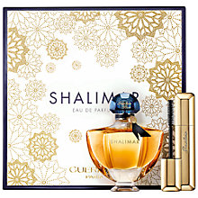 Buy Guerlain Shalimar Christmas Coffret Eau de Parfum 50ml + C'ils de Enfer Maxi Lash Mascara Online at johnlewis.com